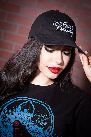 Fatal Beauty Embroidered Hat
