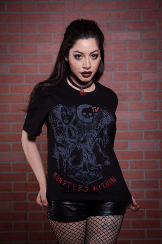Monsters Within Tattoo Tee