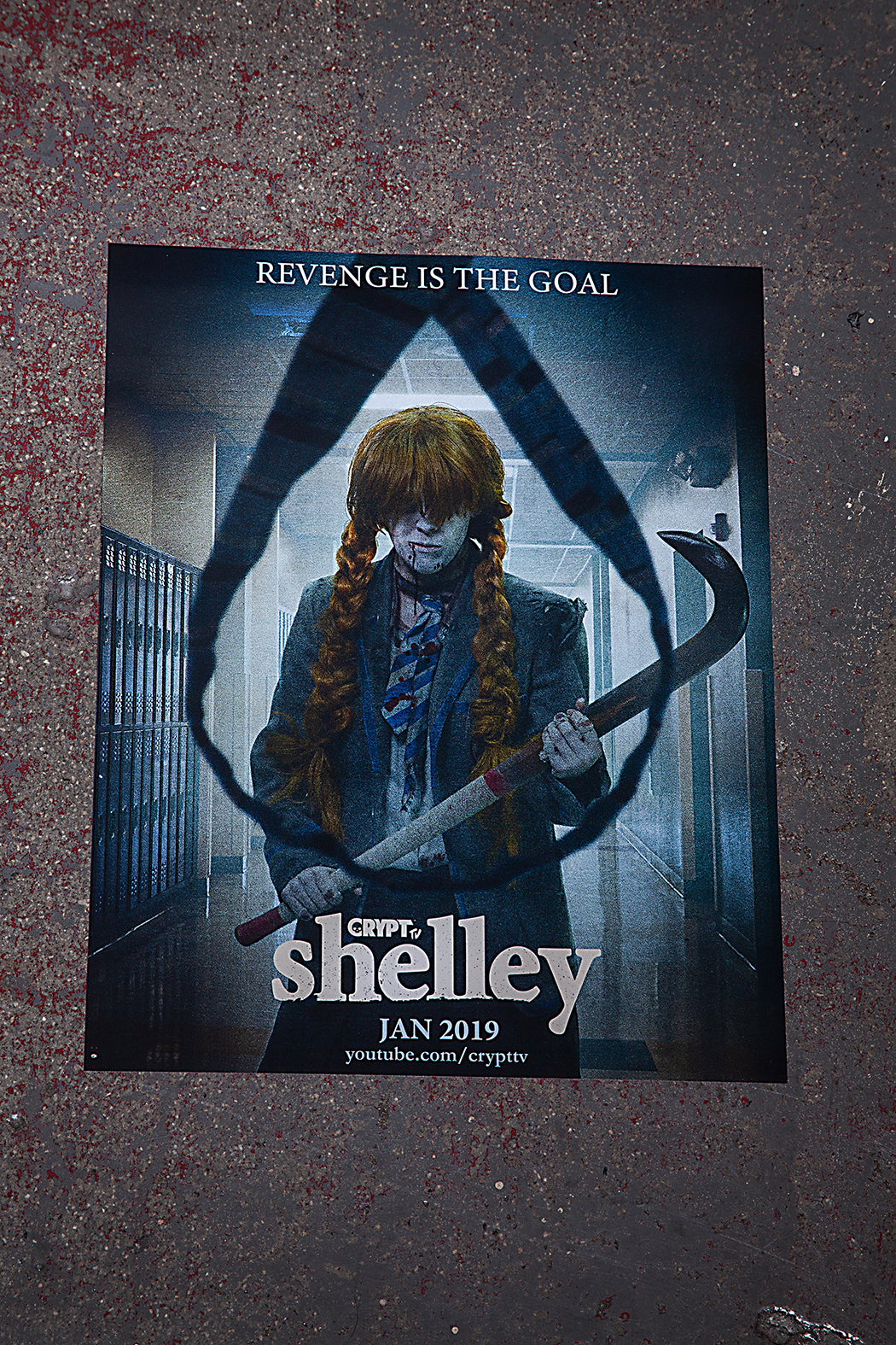 "Shelley Poster - Revenge is the Goal 11"" x 14"""