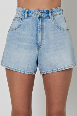 Mirage Stella Blues High Rise Denim Shorts