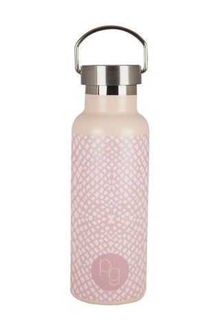 Stainless Steel Kakamas Taupe Pink Reptile Drink Bottle