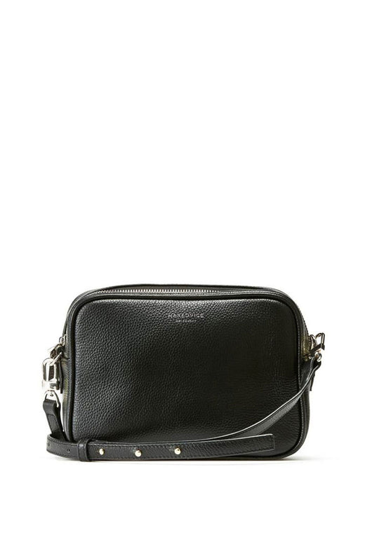 The 1995 Silver Crossbody Bag Pebble Black