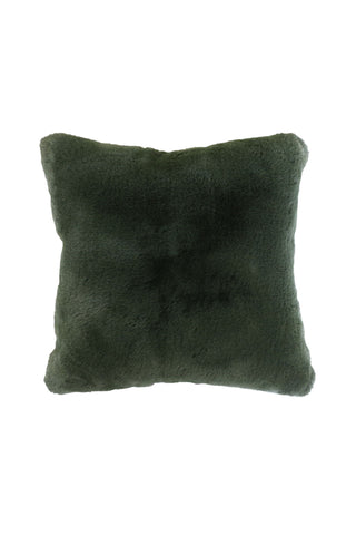 Pele Seaweed Faux Fur Cushion 45x45cm