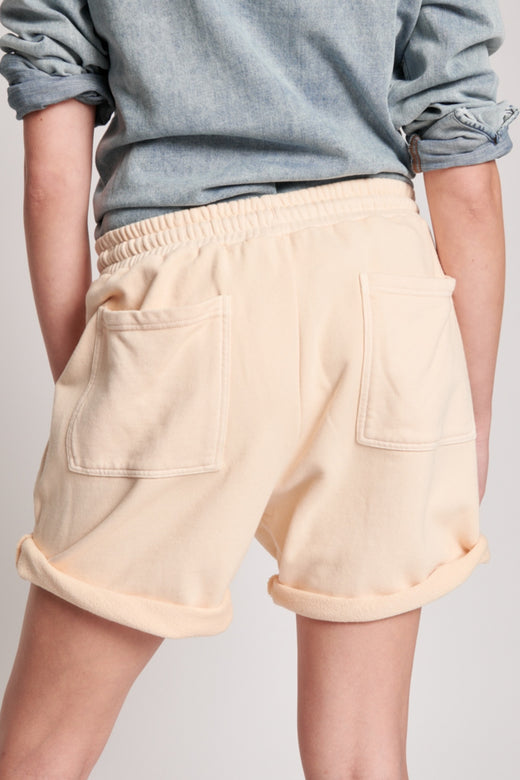 Stone Island Peach Sweat Shorts