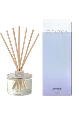 Large Reed Diffuser Coconut + Elderflower