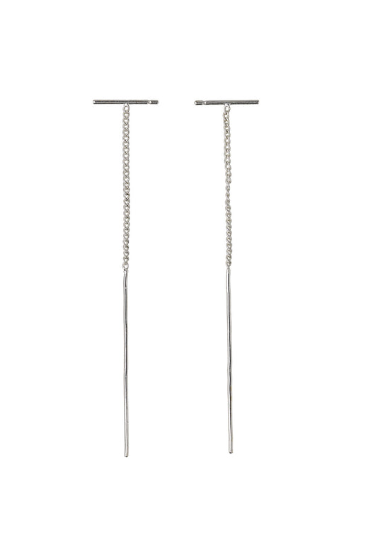 Brielle Small Bar Thread Earring