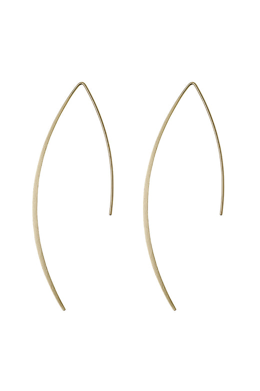 Gracia Gently Curved Thread Earring