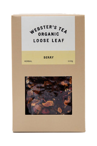 Organic Berry Tea Pack 110g