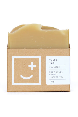 Tulsi Tea Natural Body Wash Bar