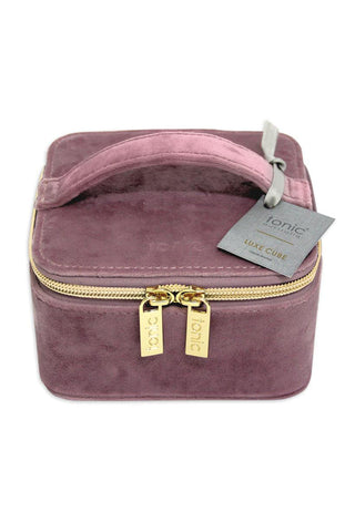 Velvet Musk Cube Travel Jewellery Case