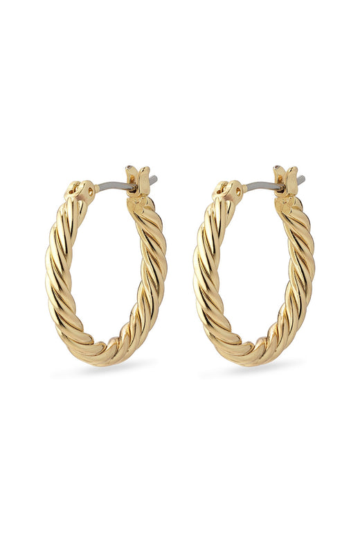 Cece Twisted Ring Earring