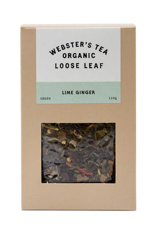 Organic Lime Ginger Tea Pack 110g