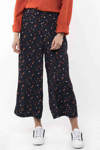 Blossom Navy Wide Leg Pant