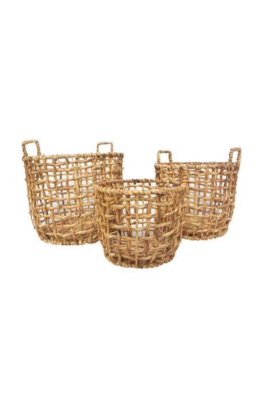 Jazy Natural Seagrass Baskets Small