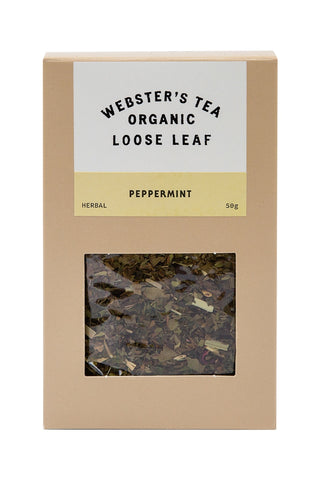 Organic Peppermint Tea Pack 50g