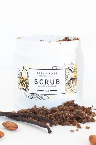 Almond and Vanilla Body Scrub