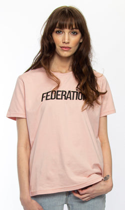 Ace Muted Rose Logo Tee