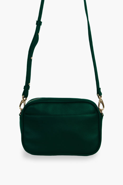 The All Times Forest Green Shoulder Bag