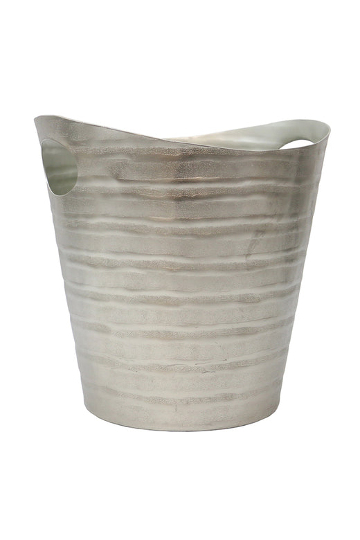 Aluminium Linear Silver Wine Bucket