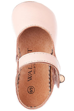 BABIES Maggie Leather Blush Mary Jane Shoe
