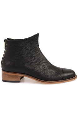 Beaus Montone Black Ankle Boot