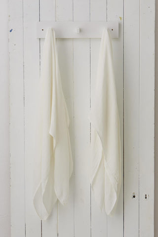 Two Muslin Wraps White