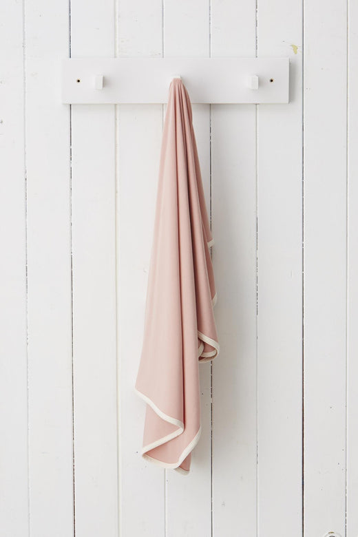 Stretch Jersey Wrap Rose