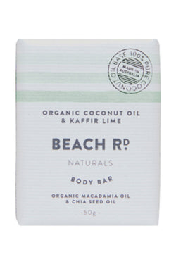 Mini Body Bar Organic Coconut Oil + Kaffir Lime
