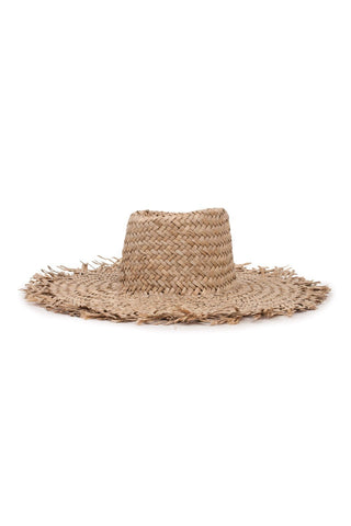 Burma Fray Edge Dark Tan Hat