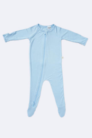 Long Sleeve Onesie Sky Blue