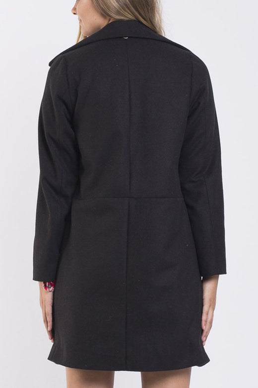 Bermuda LS Black Coat