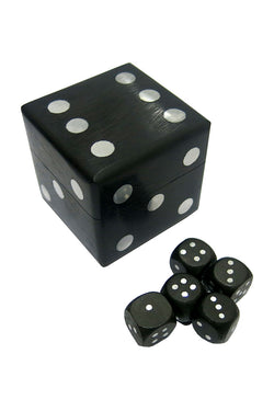 Black Dice Box 5x5cm