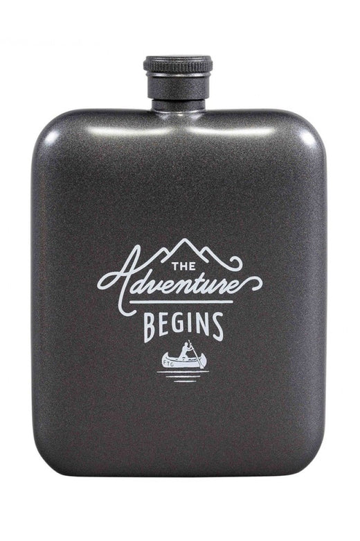 Black Hip Flask