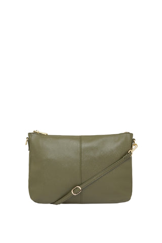 Bowery Large Shoulder Bag Khaki