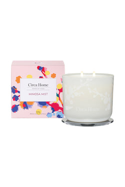 Mothers Day Mimosa Mist 260g Candle