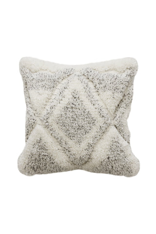 Canta Natural White Grey Cushion 50x50cm