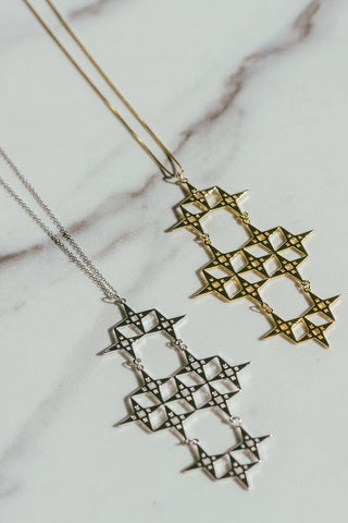 Chaos North Star Necklace