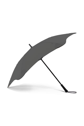 Executive Stick Charcoal Umbrella with Carry Case