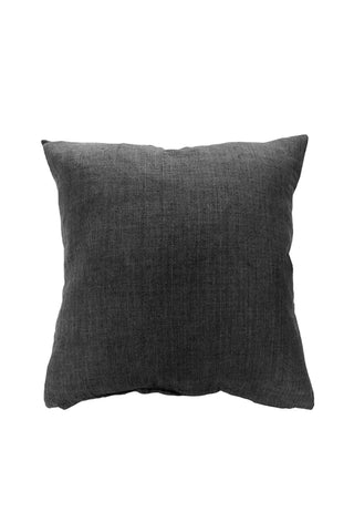 Indira Charcoal Linen Cushion 55x55cm