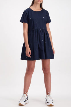 Chopsticks Park SS Navy Dress