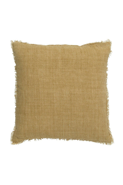 Burton Ochre Cushion