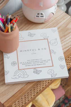 A-Z of Mindfulness Pink Colouring Book