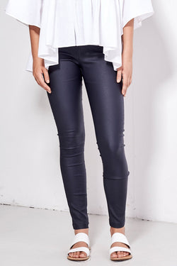 Dangerous To You Coated Pant Black