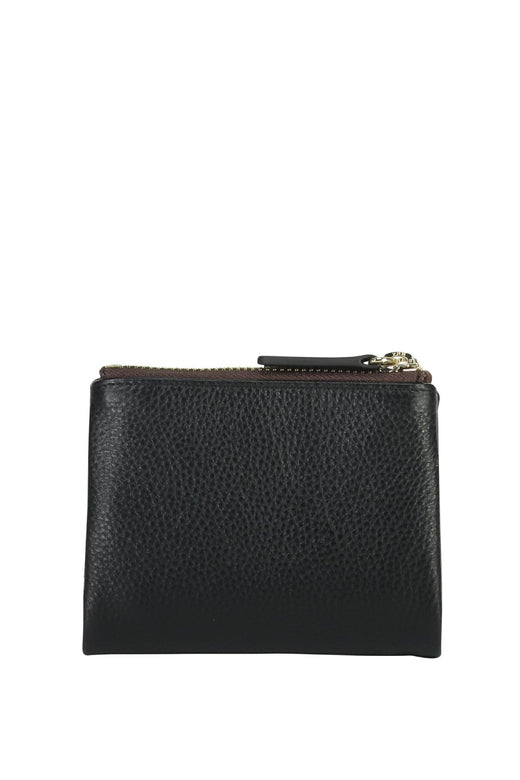 Delilah Black Leather Wallet