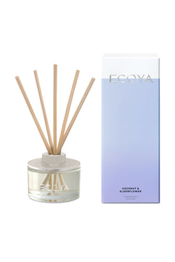 Mini Reed Diffuser Coconut + Elderflower