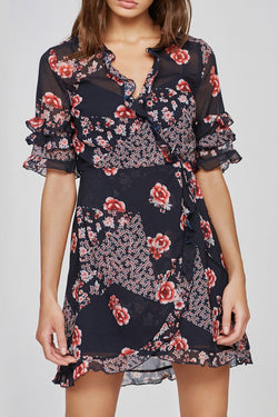 East Wrap Dress
