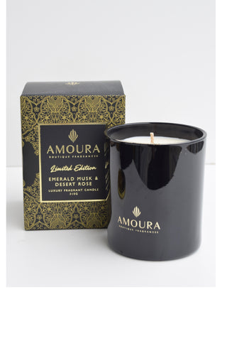 Emerald Musk + Desert Rose Luxury Candle 310g