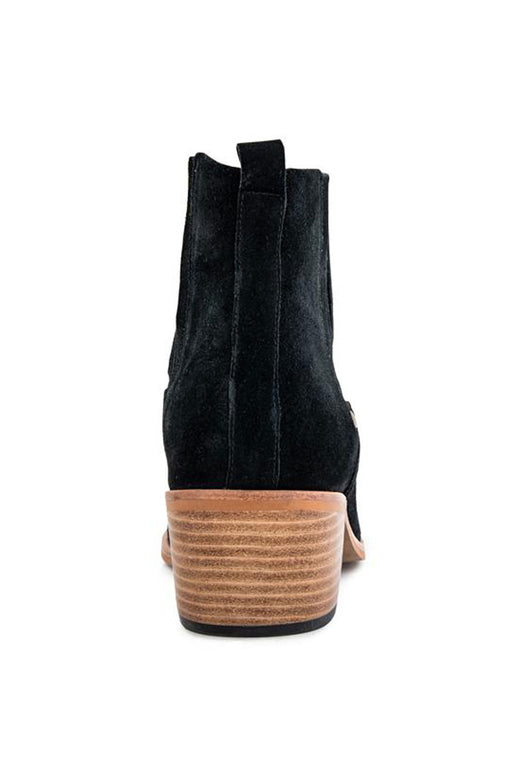 Explore Black Suede Boot