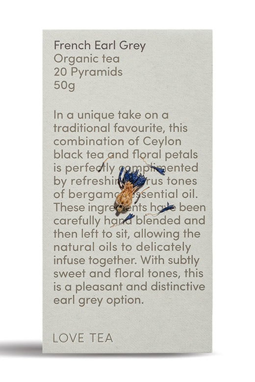 Love Tea French Earl Grey Pyramid 20