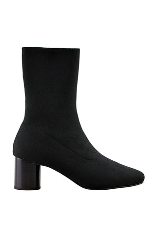 Frankie Black Stretch Boot